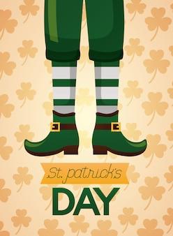 Glücklicher st. patricks day