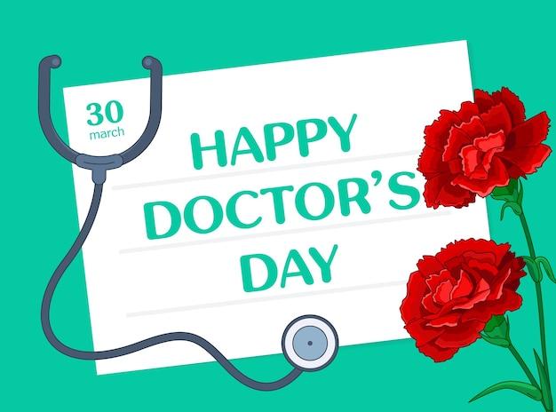 Glücklicher tag des doktors