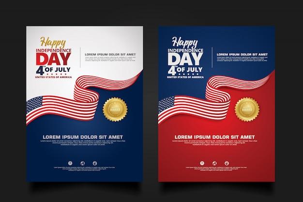 Glücklicher unabhängigkeitstag, vierter juli