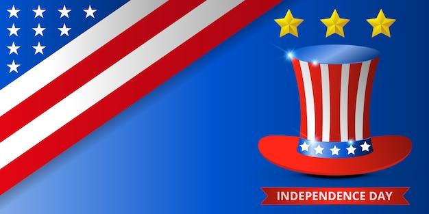 Glücklicher usa-unabhängigkeitstag, juli 4..