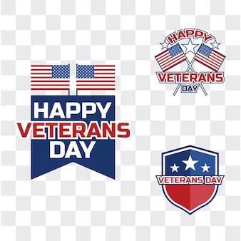 Glücklicher veteranentag für amerikanischen veteran
