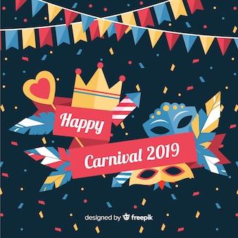 Glückliches carnvial 2019