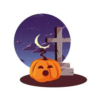 Glückliches halloween-feier ilustration