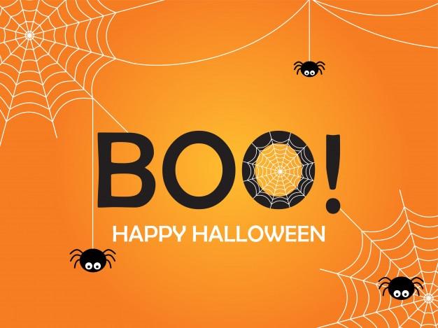 Glückliches halloween-plakatdesign