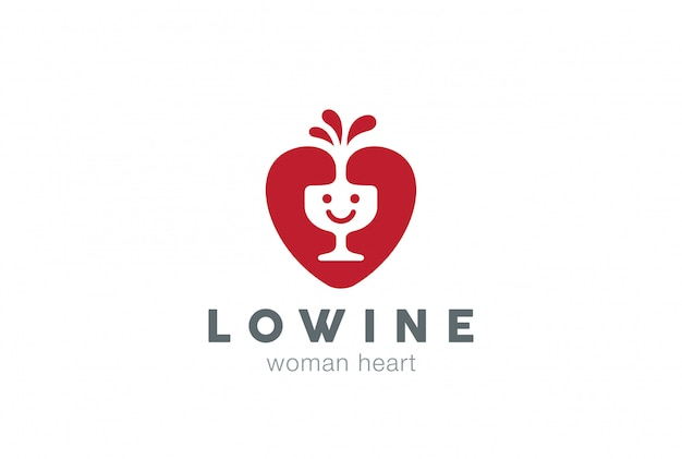 Glückliches lächeln logo symbol