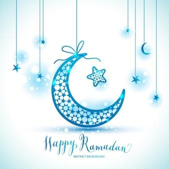 Glückliches ramadan karte