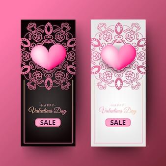 Glückliches valentinsgruß-tagesdekoratives plakat