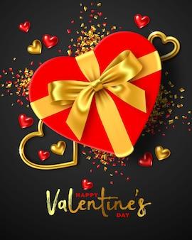 Glückliches valentinstag-feiertagsdesign