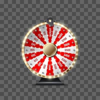 Glücksrad, um zu spielen und den jackpot zu gewinnen