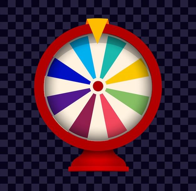 Glücksräder. logo für glücksspiele.
