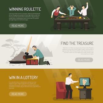 Glücksspiel banner gesetzt
