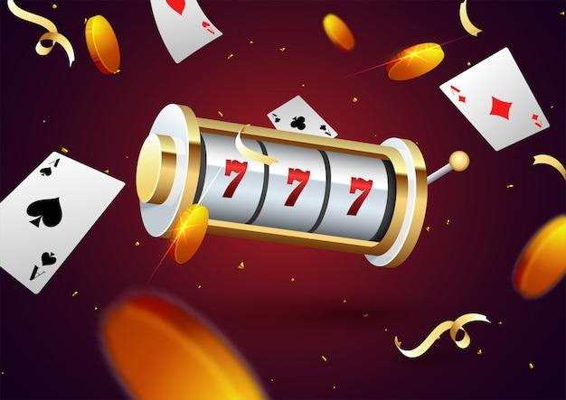 Glücksspiel nacht party konzept