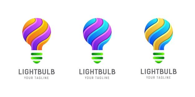 Glühbirne logo vorlage