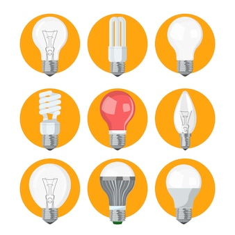Glühbirnenkollektion