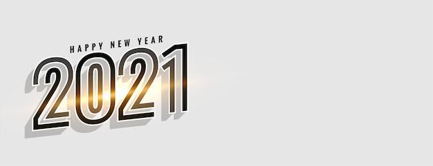 Glühender glücklicher neujahrsfeierhintergrund