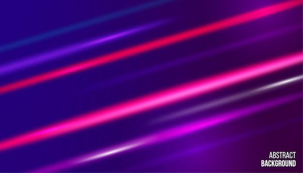 Glühender hintergrund des abstrakten bewegungslichteffekts