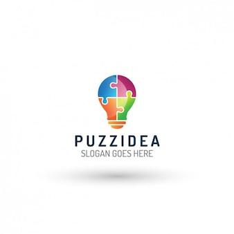 Glühlampe logo-vorlage
