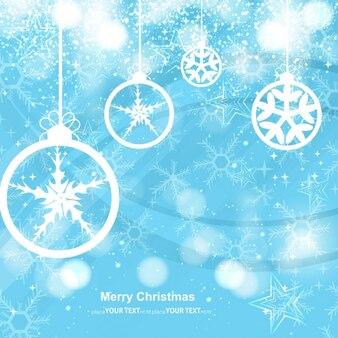 Glühende Weihnachtsgruß