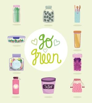 Go green öko-container