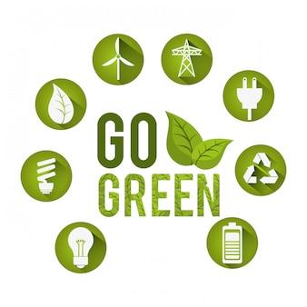 Go grünes design