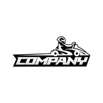 Go kart logo
