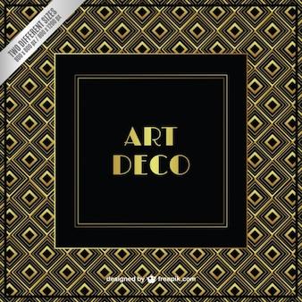 Gold art-deco-hintergrund