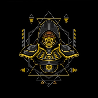 Gold assassin geometry style