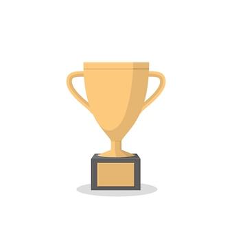 Gold cup-sieger internationaler sportwettbewerb