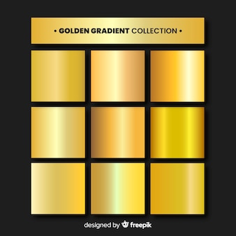 Gold-gradientensammlung