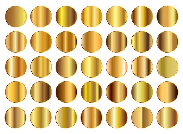 Gold hintergrundsammlung