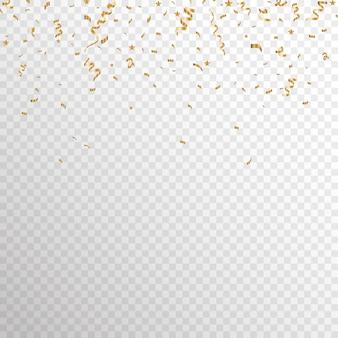 Gold konfetti