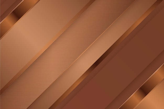 Gold luxus hintergrund mit schrägen linien