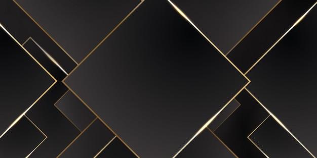 Gold schwarz tech metall abstrakt