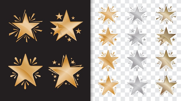 Gold star award vorlage