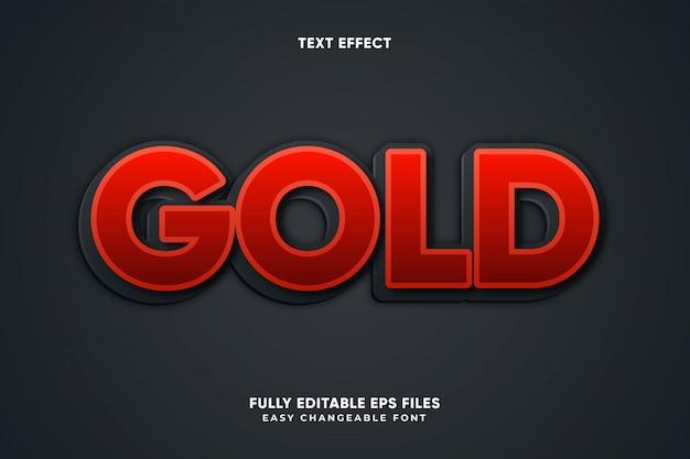 Gold-texteffekt