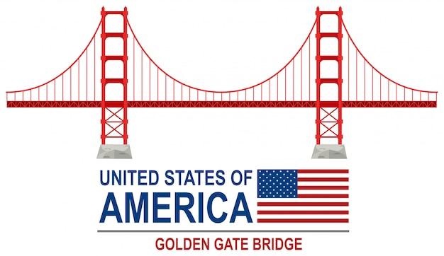 Golden gate bridge amerika