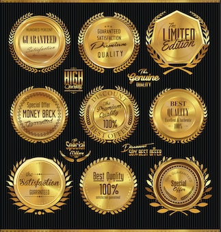 Golden label-sammlung