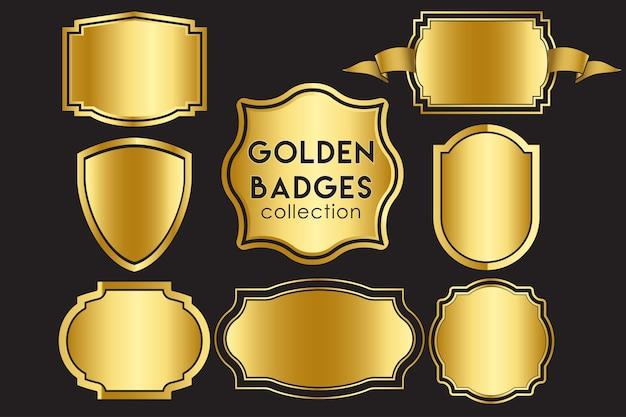 Goldene abzeichen sammlung