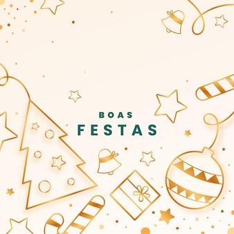 Goldene boas feste