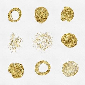Goldene flecken