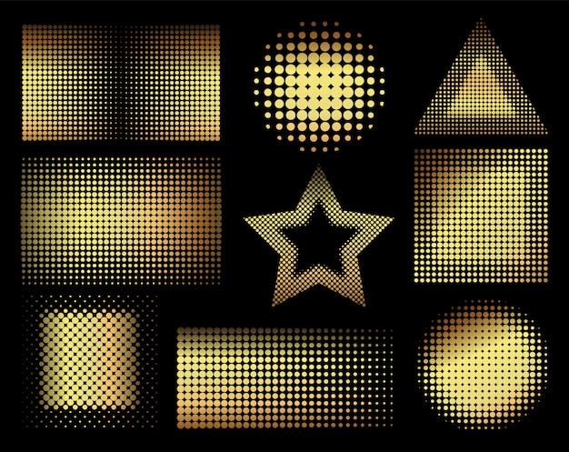 Goldene halbtonformen