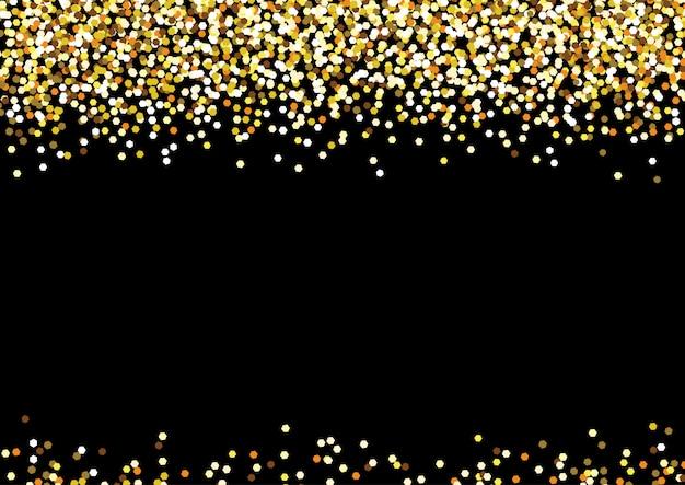 Goldene hintergrundfeier