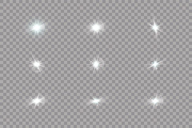 Goldene horizontale strahlenlinsenlinien laserstrahlen lichtreflexionseffekt