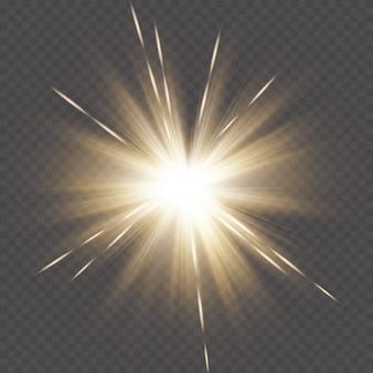 Goldene lichter hintergrund ...