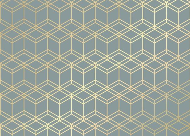 Goldene linien. geometrisches muster.