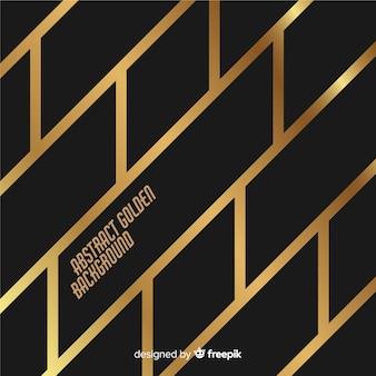 Goldene linien hintergrund