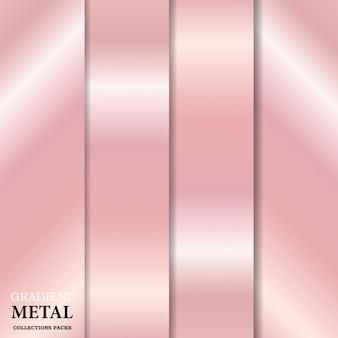 Goldene metall hintergrund mit farbverlauf