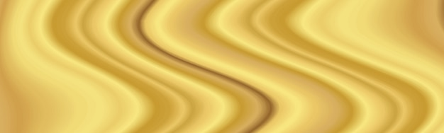 Goldene moderne flüssige hintergrundzusammensetzung mit welle