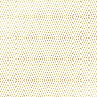 Goldene musterhintergrund der quadratischen dreiecke form