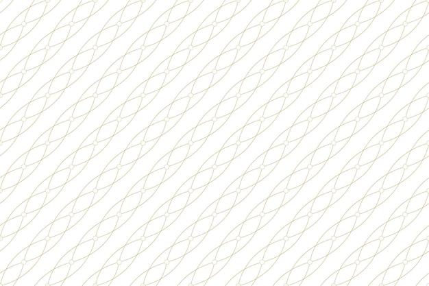 Goldene textur. geometrisches nahtloses muster mit verbundenen linien und punkten. linien plexuskreise. konnektivität im grafischen hintergrund. moderne stilvolle kulisse für ihr design. vektor-illustration.